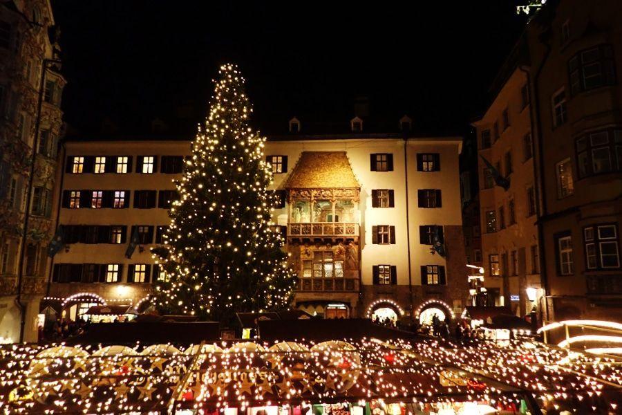 nostalgische kerstmarkt Innsbruck