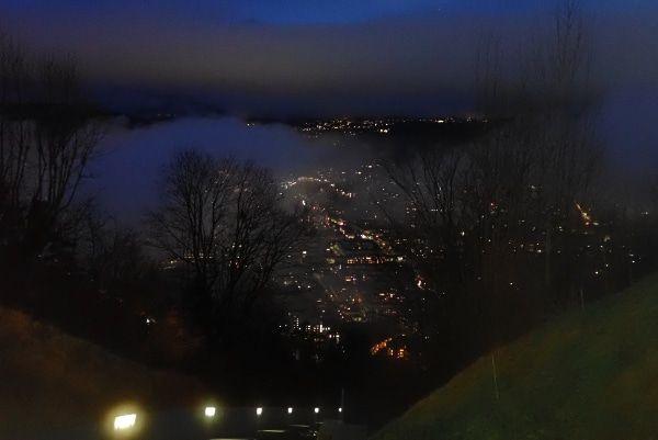 Uitzicht vanaf Nordkette bahn