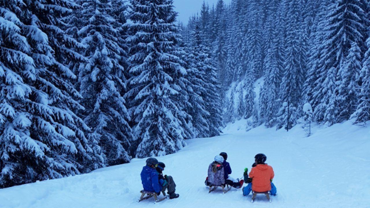 6 Km Rodelen In Radstadt Met Je Ski Amade Liftkaart
