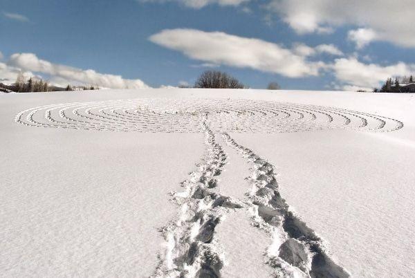 Sonja Hinrichsen ontdekt snowart
