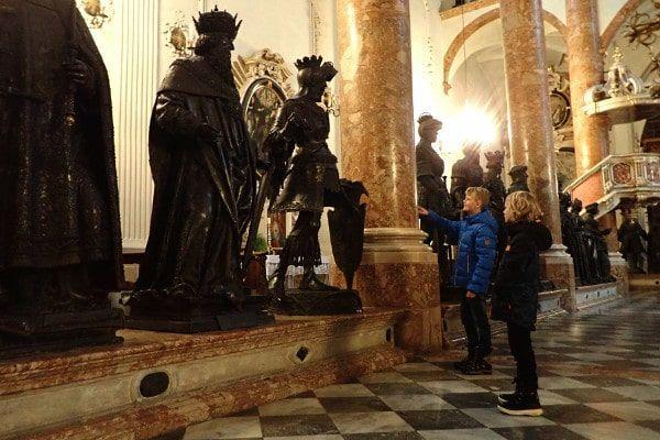 Een bezoek aan de Hofkirche Innsbruck