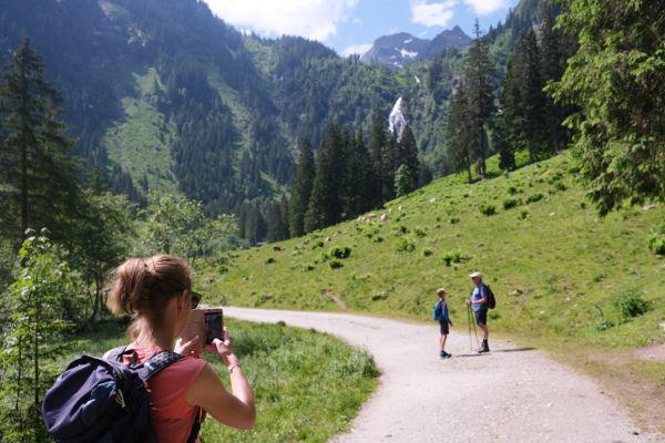om de Bodensee van Stiermarken wandelen