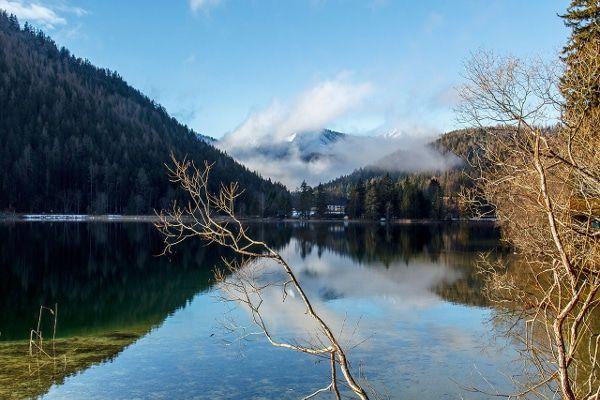 Erlaufsee bergmeer in Oostenrijk