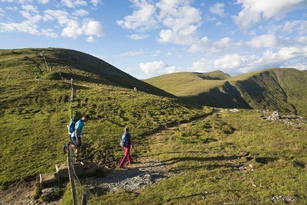 wandelen in de Nockbergen
