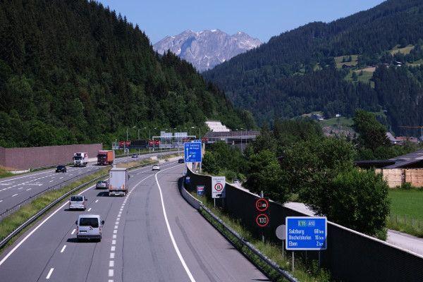 In Oostenrijk is een vignet verplicht op de snelweg