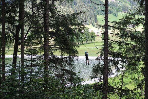 Flying ox. spectaculaire afdaling over het meer