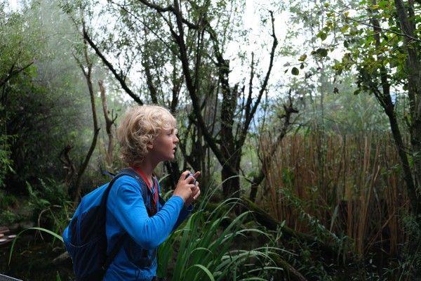 Alpenzoo: op zoek naar wilde dieren met de kindercamera