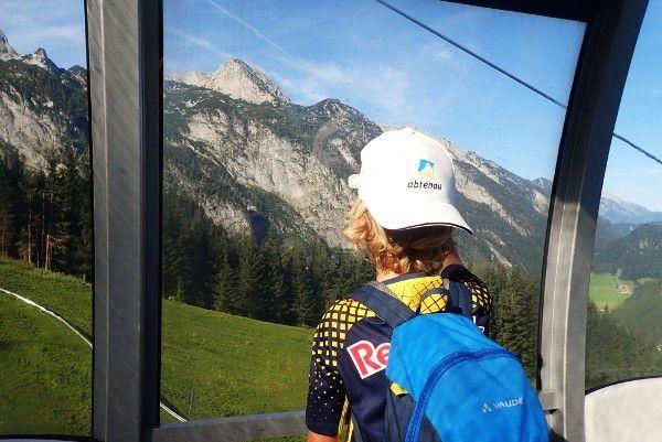 karkogelbaan zomer in Abtenau