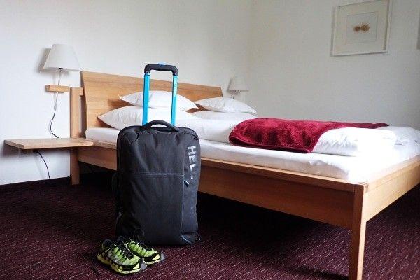 handbagage trolley voor outdoor vakantie