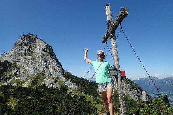 wandelen in zomer in Abtenau