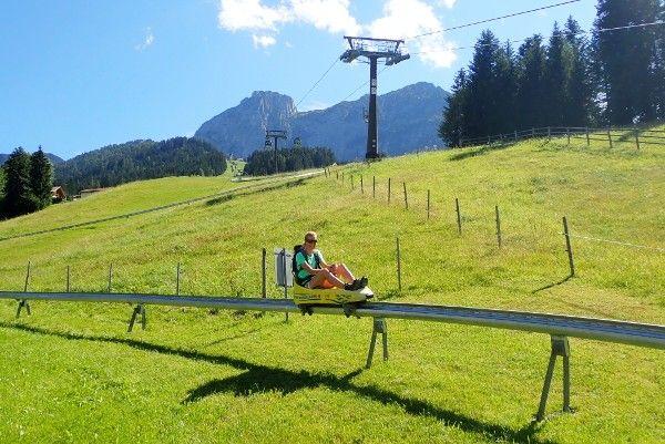 zomerrodelen in Abtenau