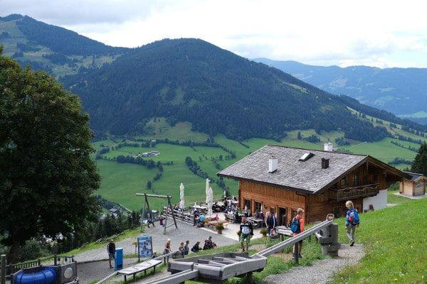 Speeltuin op de berg in Maria Alm