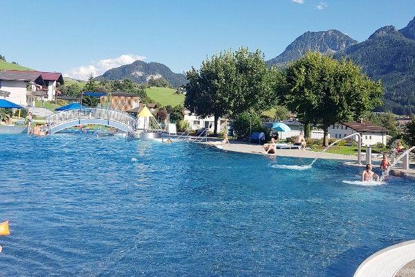 zwembad van Abtenau