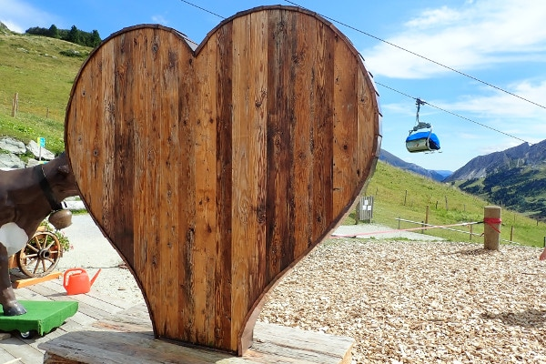 Ideale wandeling voor families - hart , leuk, mooi