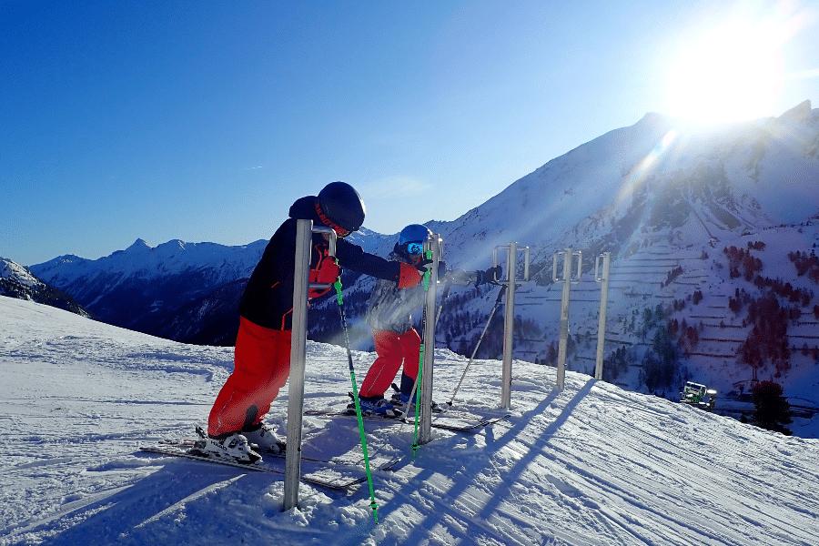 makkelijke skigebieden: obertauern