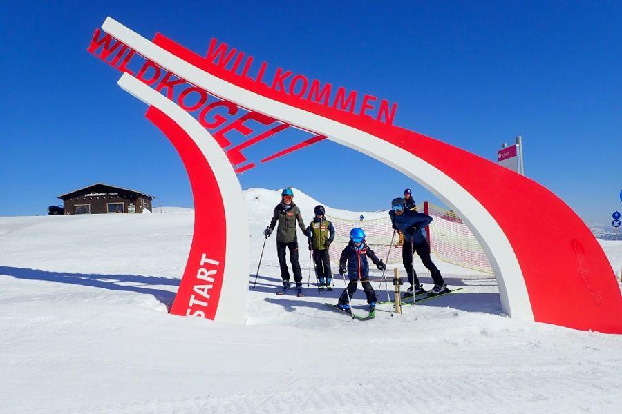 makkelijk skigebied met veel blauwe pistes